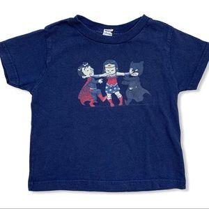 Wonder Woman navy blue tee size 3T